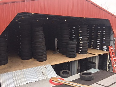 Tire Warehouse Photo